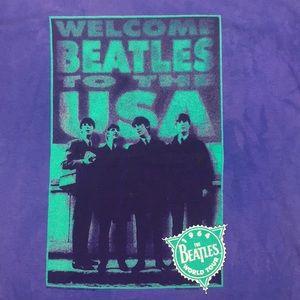 Shirts - Welcome Beatles to the USA 1964 World Tour Shirt